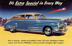 Buick Fireball Valve-in-Head Straight-Eight Engine