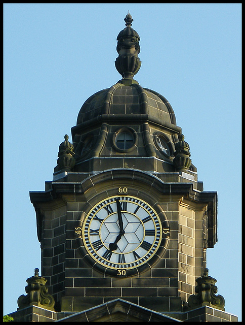 Lancaster town hall clock