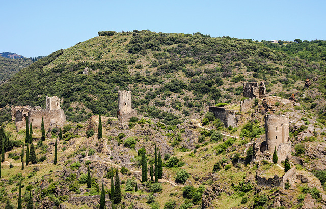 The four Castles of Lastours