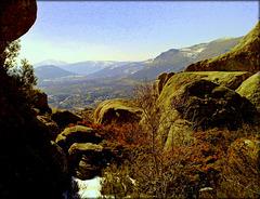 Bustarviejo Valley from La Sierra de La Cabrera