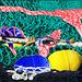 Fischernetz: mit dem Negativ spielen