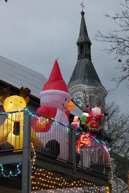 am Weihnachtsmarkt Regenstauf