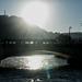 BESANCON: Contre-jour du pont St Pierre.