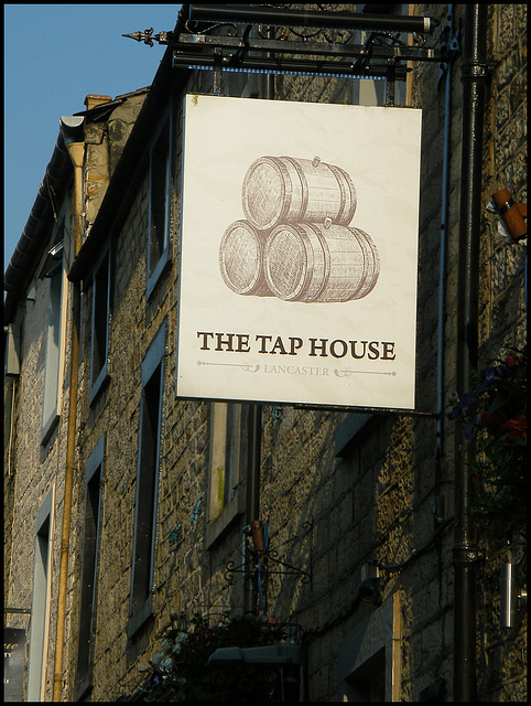 boring Tap House sign