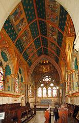 The redundant church at Studley Royal, North Yorkshire