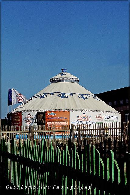 HFF from a Baikal Yurt!