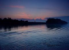 dawn on the River Danube