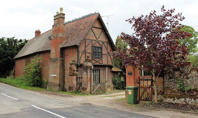 Lodge to the demolished Flixton Hall Suffolk, Designed by Anthony Salvin