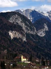 Schloss Stainach from Schloss Trautenfels