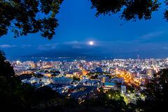 Japan - Kagoshima - Shiroyama view point