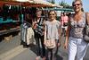marché Saint Aout avec mes nièces