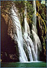 Sillans-la-Cascade. La cascade de la Bresque