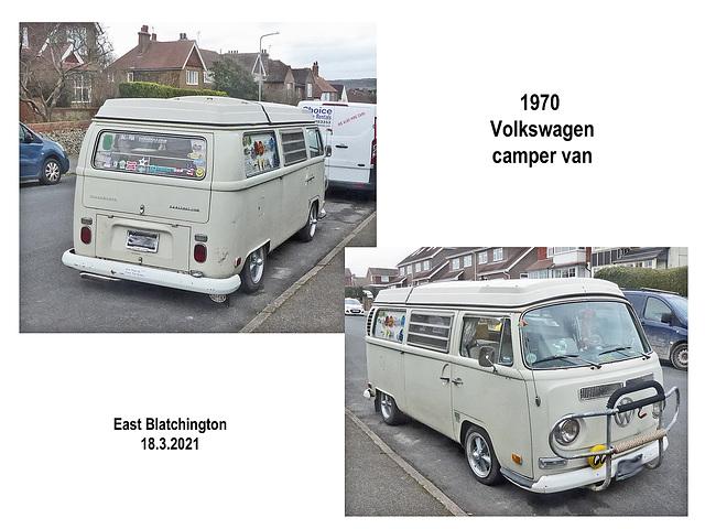 1970 VW Camper van Seaford 18 03 2021