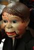 Effrayante marionnette de ventriloque