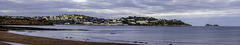 Panoramic view to Torquay