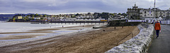 Panoramic view to Paignton Pier