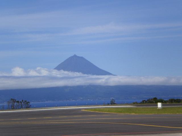 View from São Jorge to Pico.
