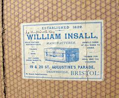 William Insall of Bristol UK