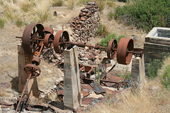 Mill Ruin, Rowland Nevada