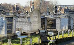 jewish cemetery, montagu rd., tottenham park, london