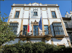 Séville / Sevilla (E) 17 juillet 2018. Le consulat de France.