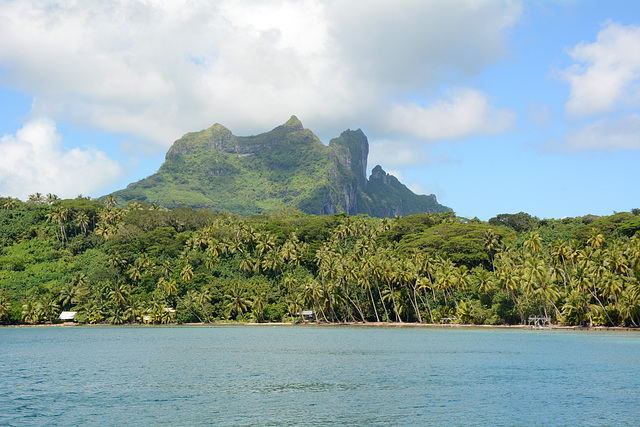 Polynésie Française, Atoll Bora Bora Viewed from the West