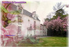 Le château de Cassemichère : collage de deux photos