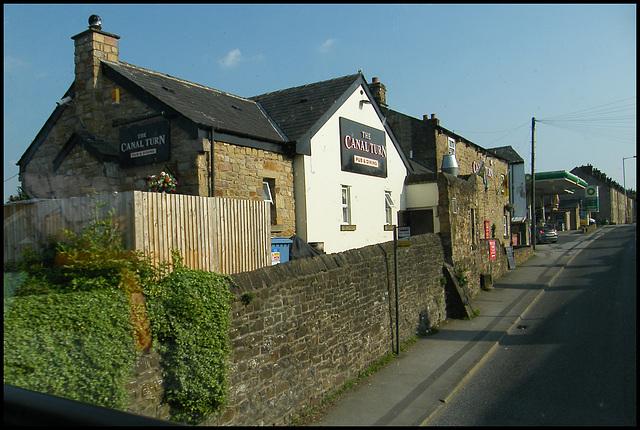 Canal Turn pub at Carnforth