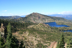 Mt. Elwell (7818 ft/2383 m) and Lakes Basin