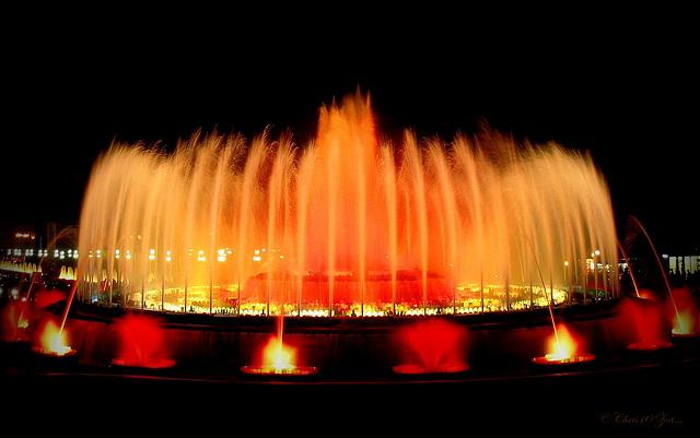 Greetz from Barcelona: Magic Fountain of Montjuïc / Font Màgica, 2...