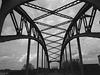 Brücke über den Eisenbahnhafen in Ruhrort