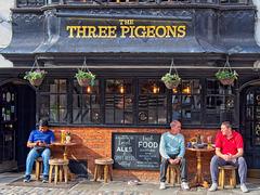 The Three Pigeons.....