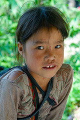 Yao kid in Sa Pa valley