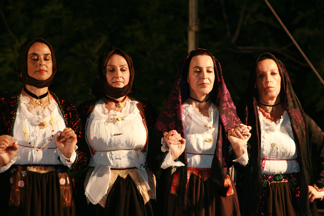 Costumi di Sardegna.
