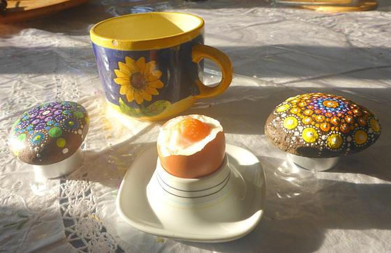 Frühstück am Morgen - matenmanĝo