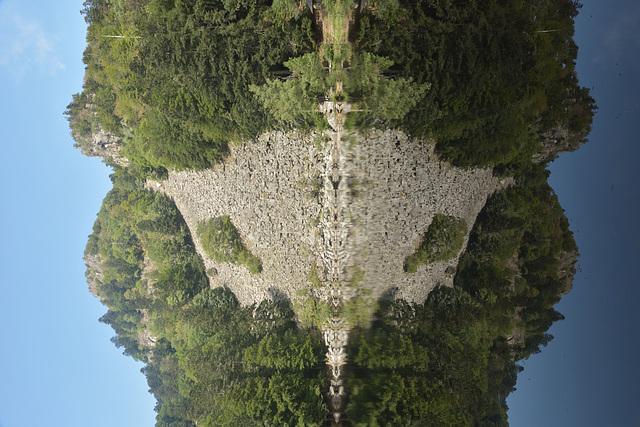 Test de Rorschach, ou lac du Fischboedle?