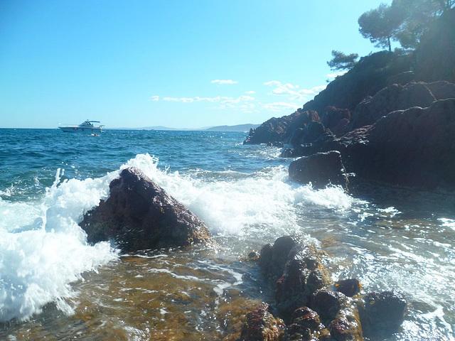 La mer qu'on voit danser...