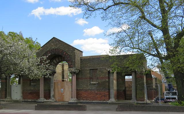garrison church of st.george, woolwich, london