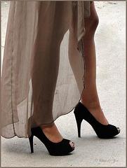 The Black High Heels... ;)