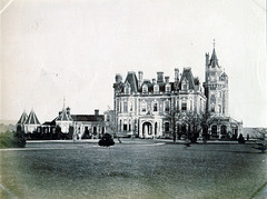 Normanhurst, Catsfield, East Sussex (Demolished) from a c1880 photograph