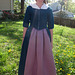 My Sister in Law in 18th Century Dress