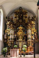 """Altar der Triberger Wallfahrtskirche """"Maria in der Tanne"""""""