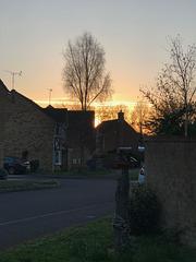 Verwood sunset