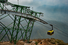 Reach the top station of Fansipan Legend