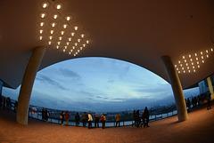 Auf der Plaza der Elbphilharmonie + 3 x PiP
