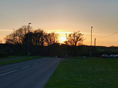 Verwood sunset