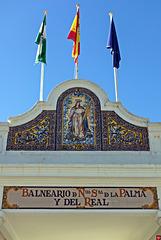 Das Strandbad von La Caleta (2 x PiP)