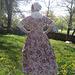 Back of my 18th century dress
