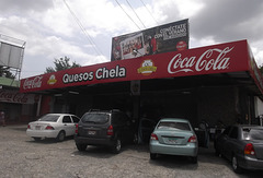 Quesos Chela via Coca-cola