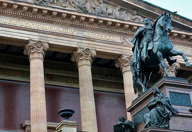 Alte Nationalgalerie in Berlin.